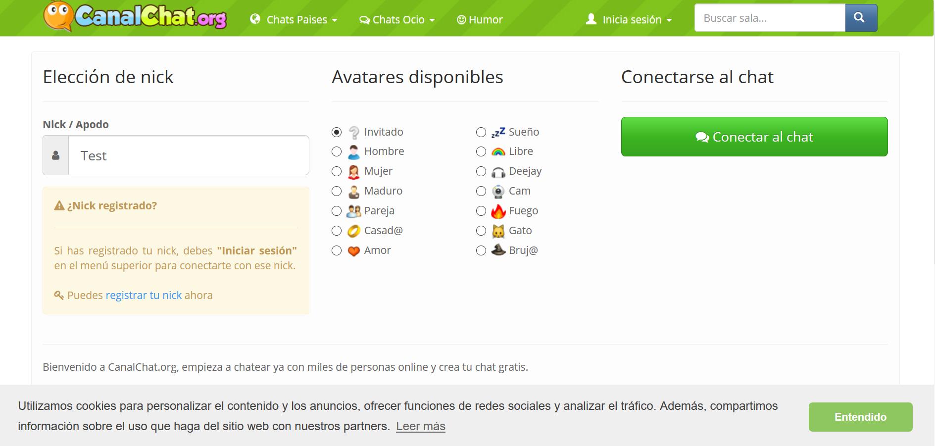 Canalchat : Uno de los chats hispanos más populares