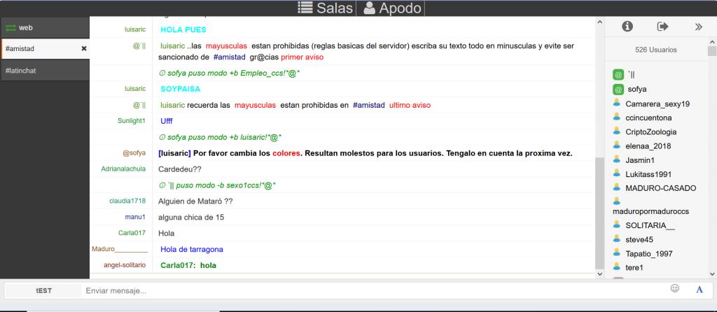 Latinschats