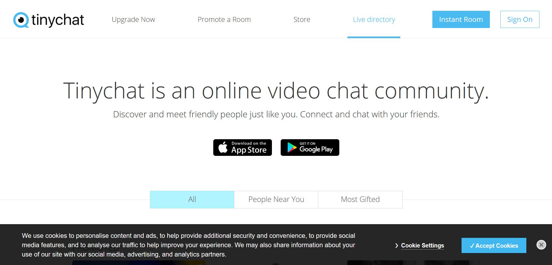 Tinychat: ¡Salas de chat grupal dónde socializar y hacer amigos!