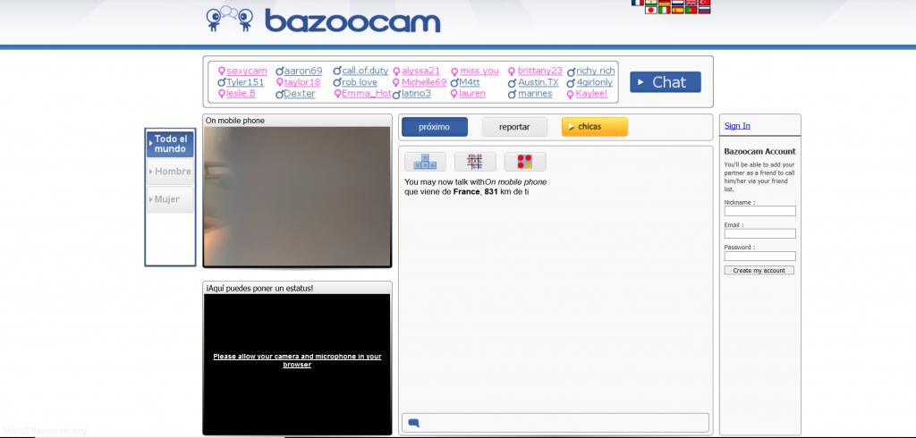 bazoocam chat aleatorio