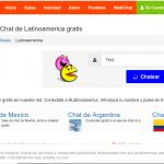 Chateagratis : chatea en salas regionales