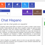 Chathispano: chat multimedia en español