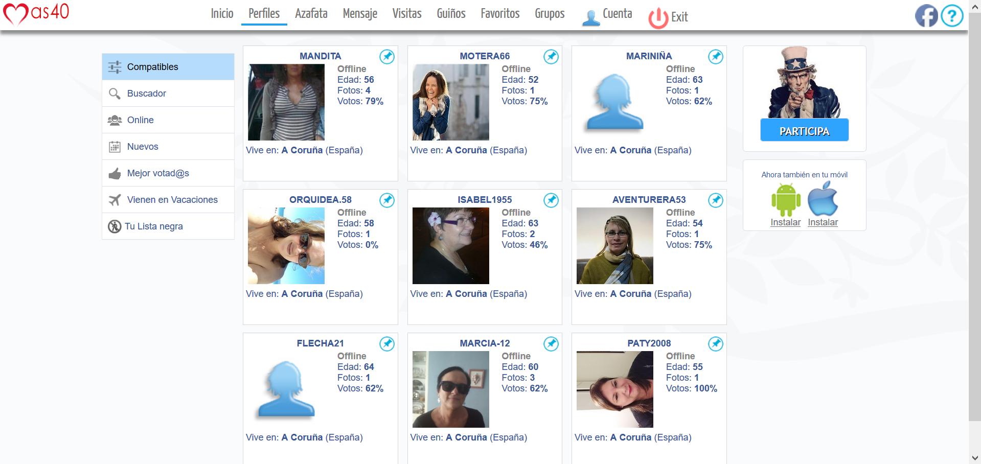 Mas40.com: Una red social para mayores de 40
