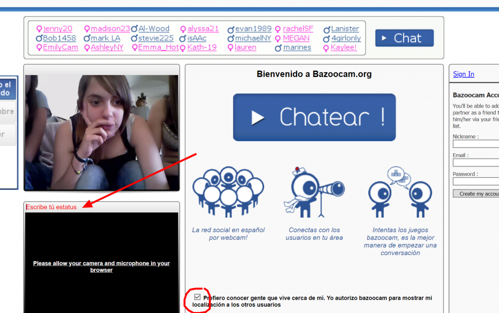 Cam bazoo Chat Online