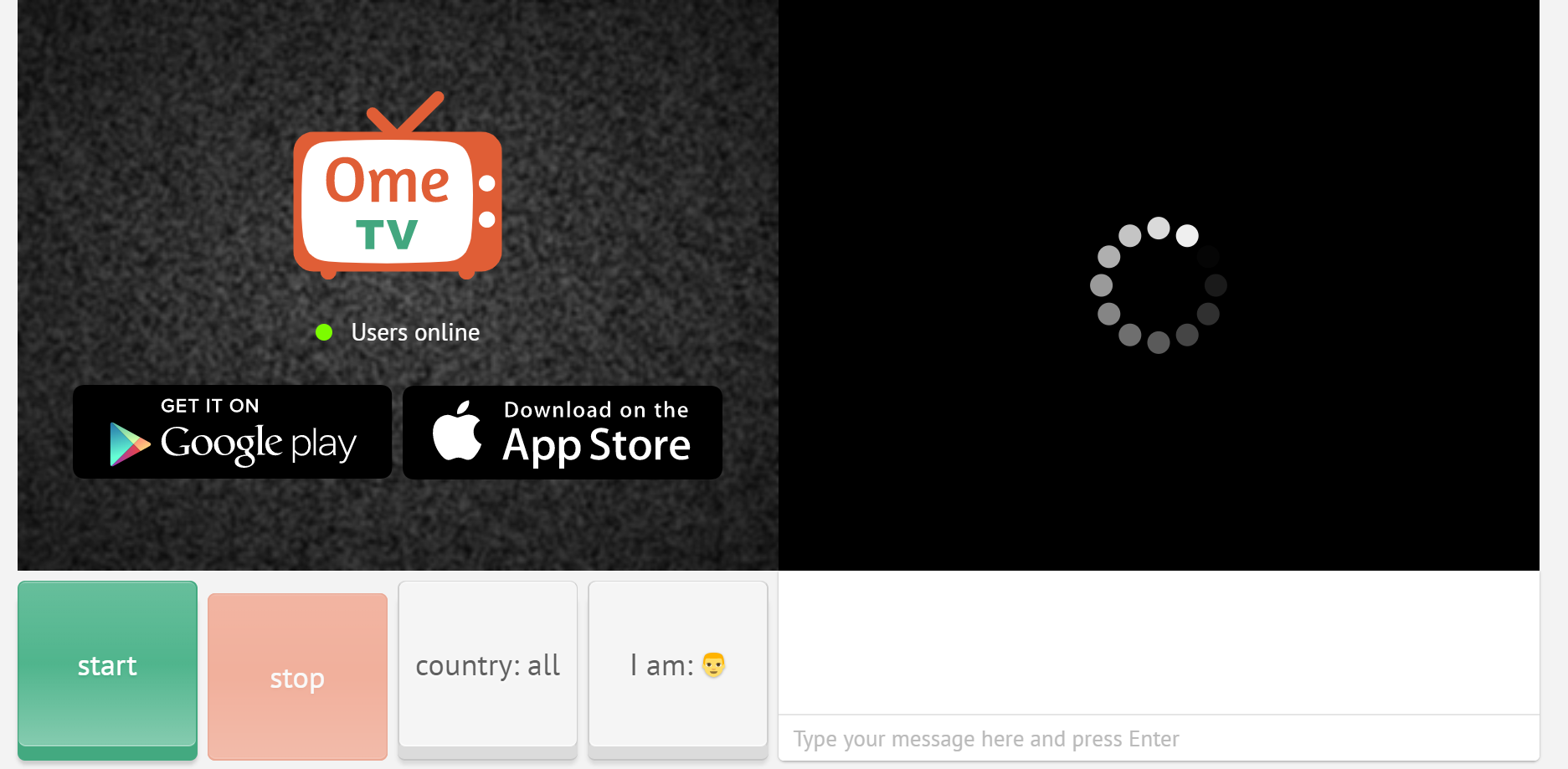 Ome.tv : el chat aleatorio 100% gratuito